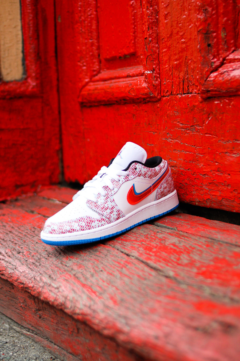 "AIR JORDAN 1 LOW SE (GS) ""TAKE FLIGHT"""
