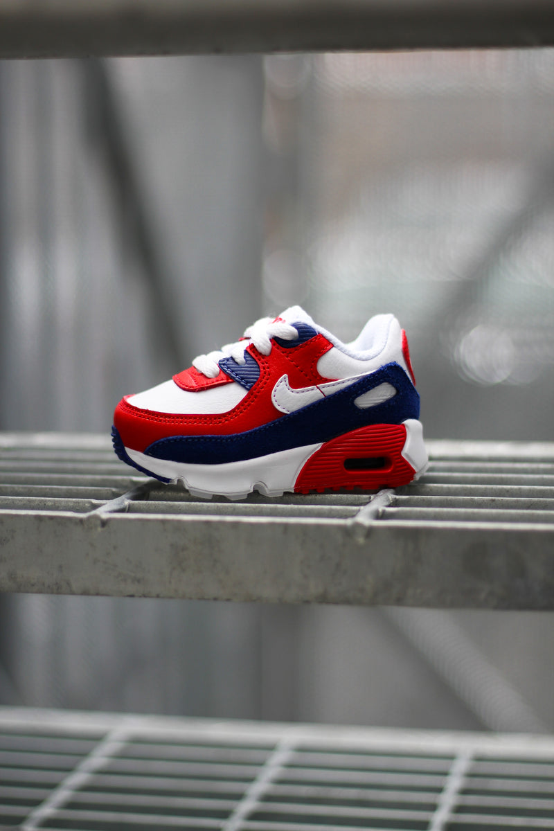 "AIR MAX 90 (TD) ""WHITE/DEEP ROYAL"""