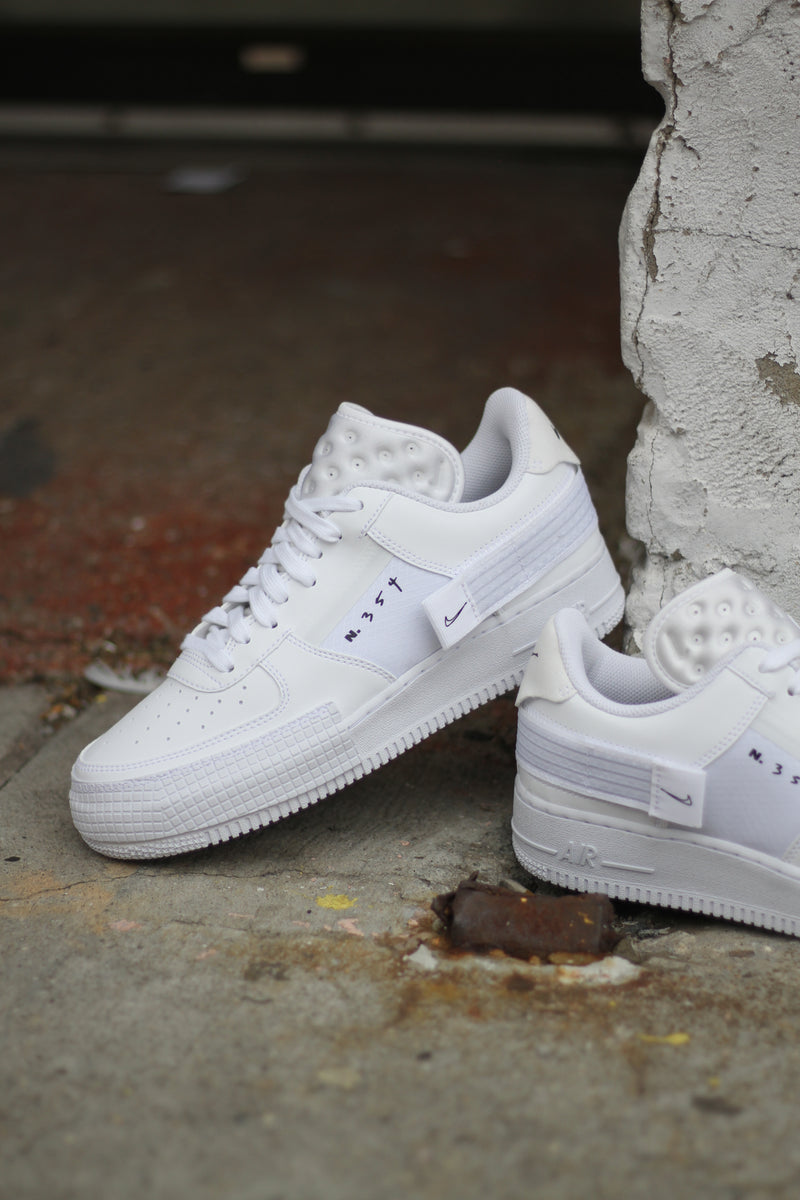 "AIR FORCE 1-TYPE ""WHITE"""