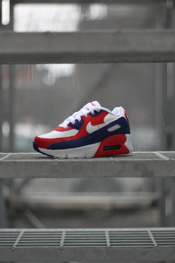 "AIR MAX 90 (PS) ""WHITE/DEEP ROYAL"""