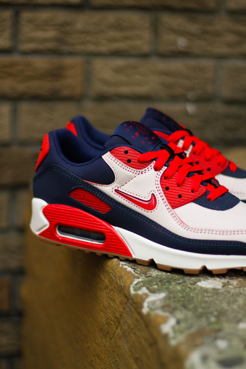 "AIR MAX 90 PRM ""HOME AND AWAY UNIVERSITY RED"""