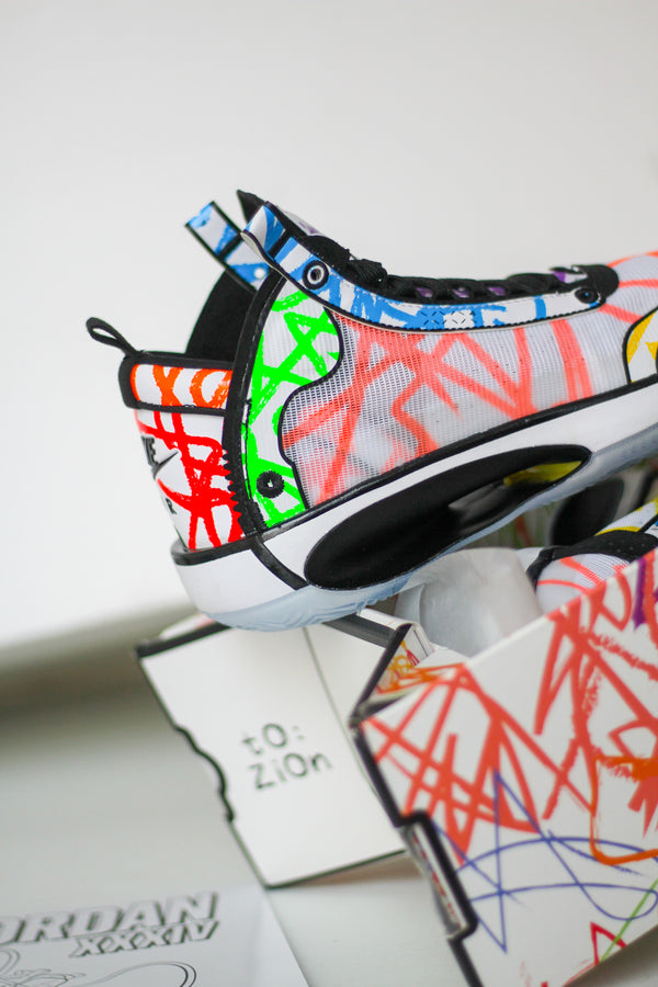 "JORDAN XXXIV PE (GS) "" COLORING BOOK"""
