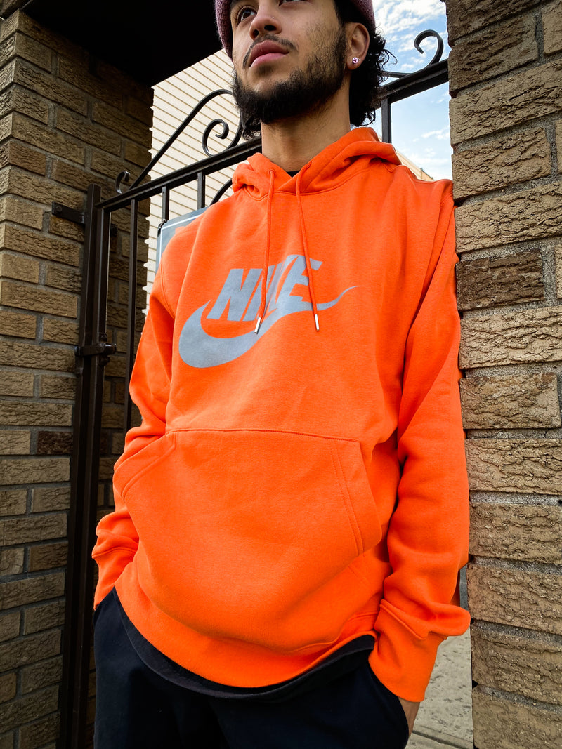 "NSW PULLOVER HOODIE ""ELECTRO ORANGE"""