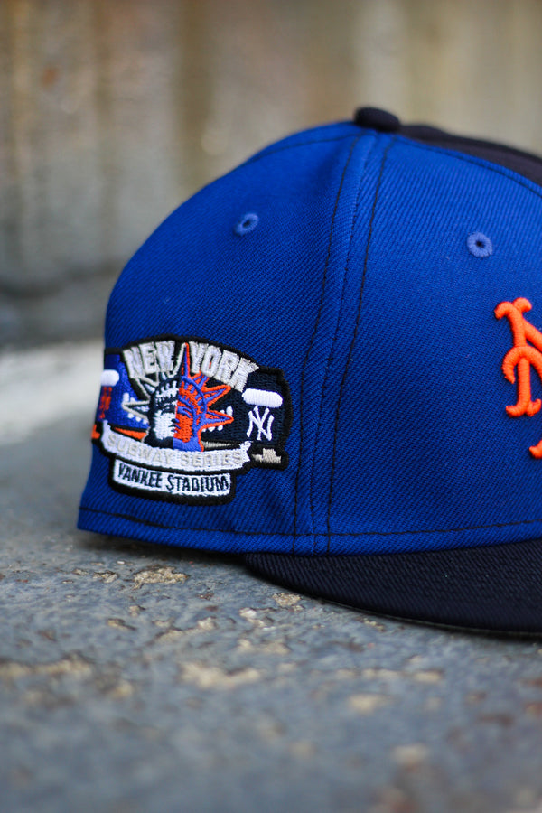 NEW YORK RIVALS TWO-TONE FITTED W/ GREY UNDER VISOR