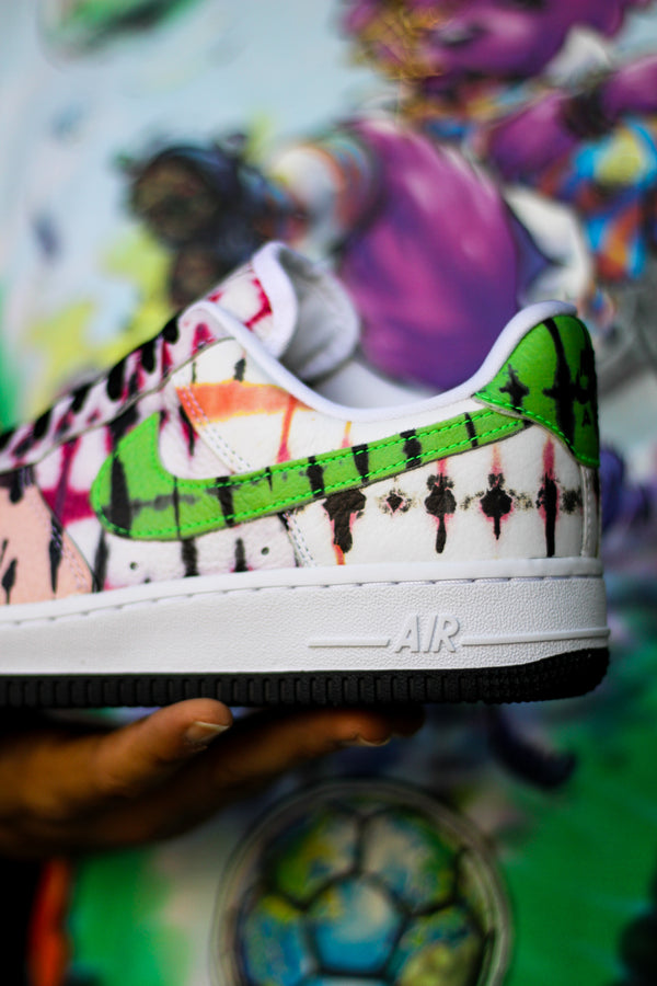 "W AIR FORCE 1 ""TIE DYE"""