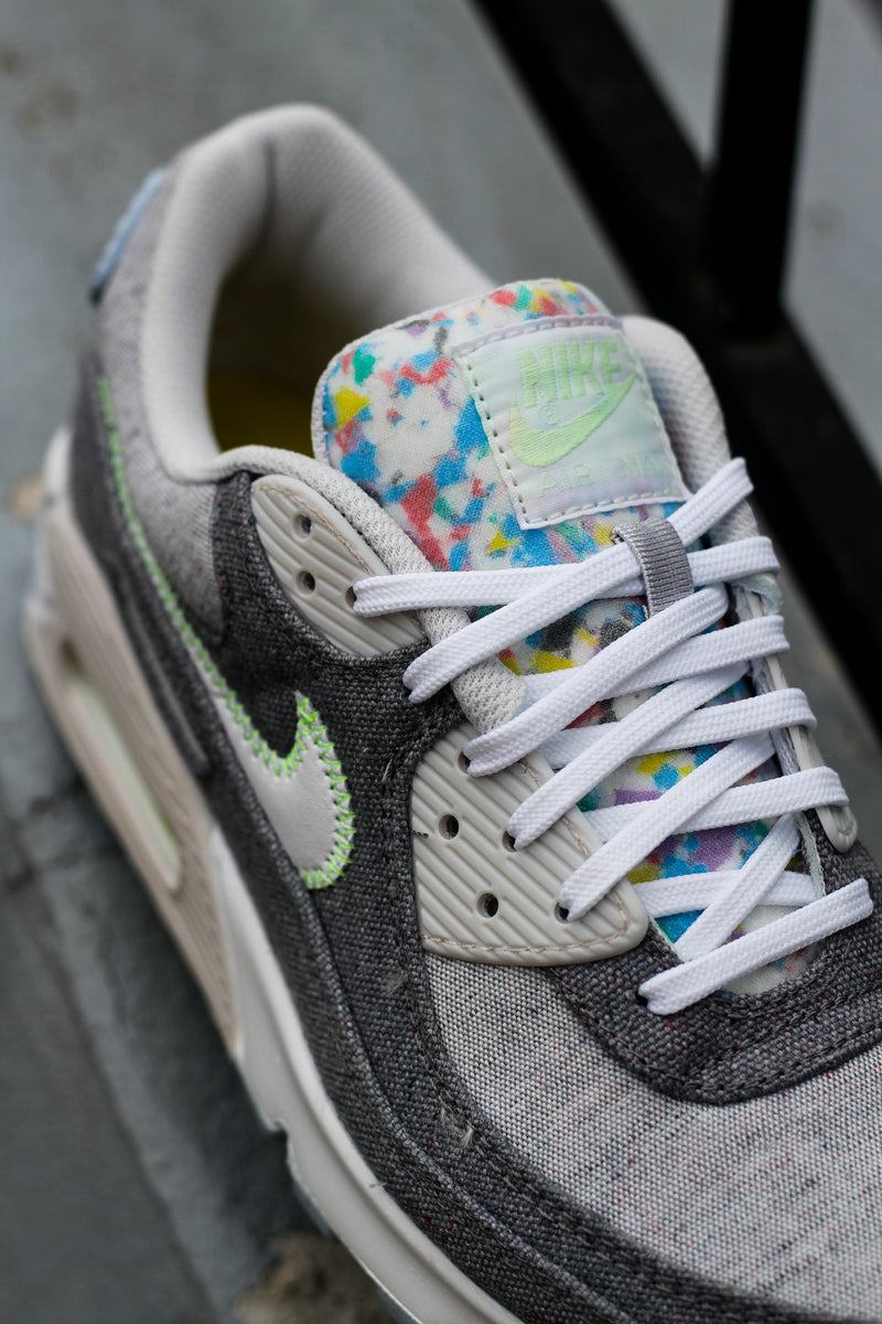 nike air max 90 recycled canvas