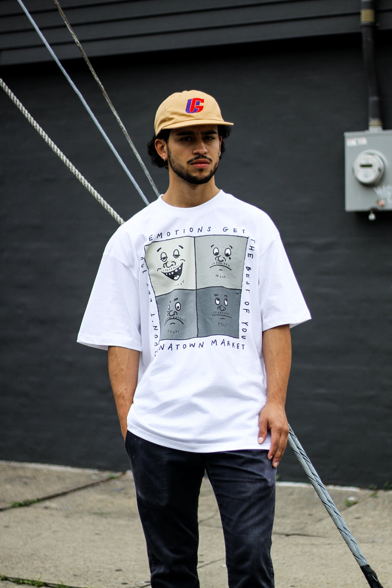 "EMOTIONS TEE ""WHITE"""