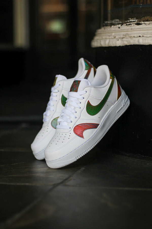 "AIR FORCE 1 '07 ""WHITE MISPLACED SWOOSH"""