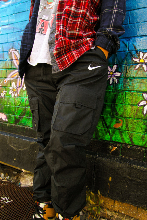 "NSW WOVEN CARGO PANTS ""BLACK"""