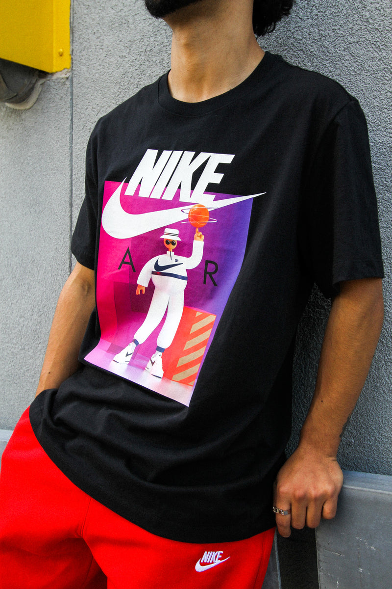 "NSW AIR GRAPHIC TEE ""BLACK"""