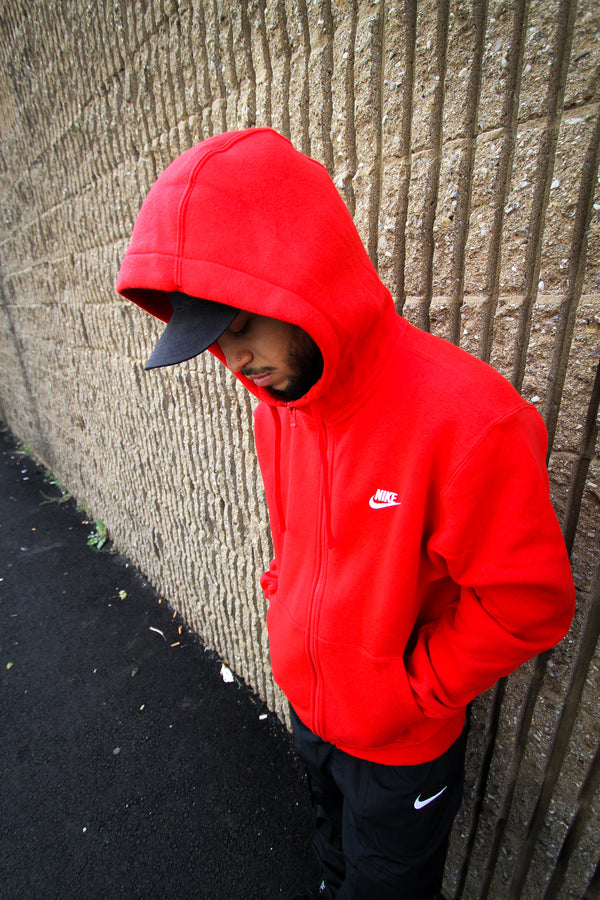 "NSW CLUB FLEECE ""UNIVERSITY RED"""