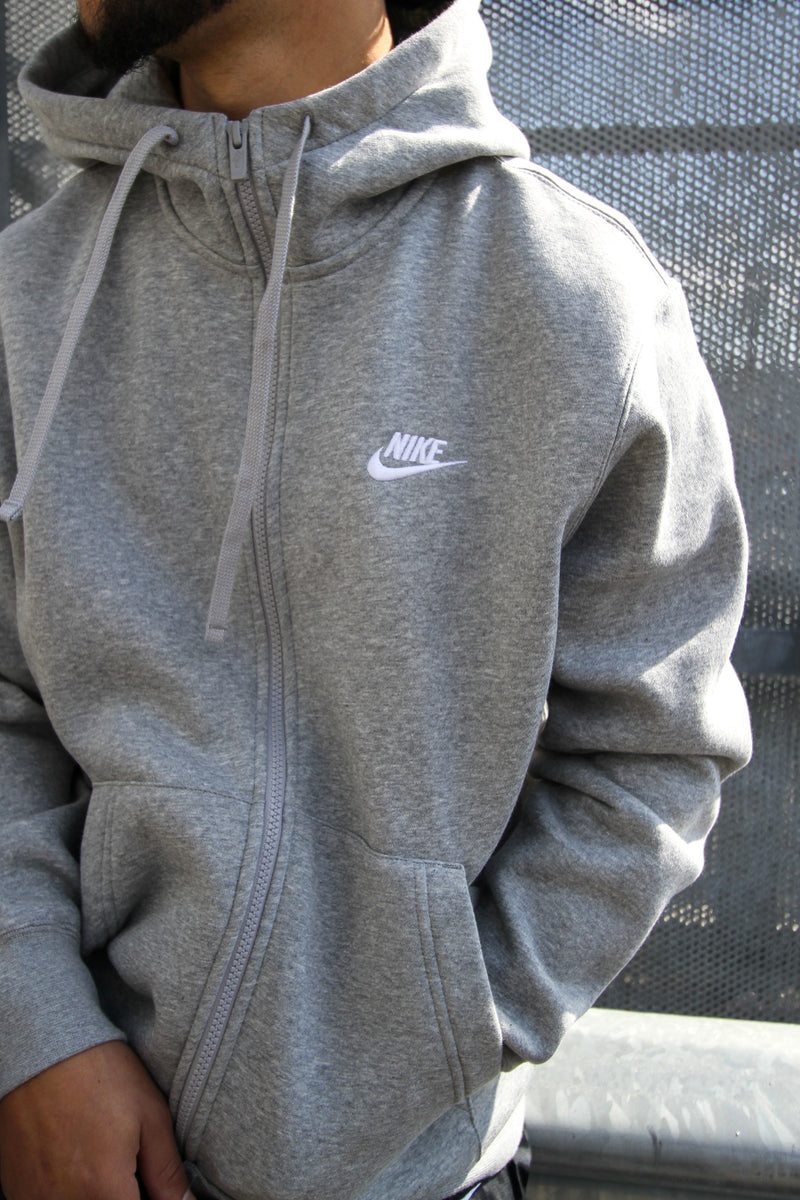 "NSW CLUB FLEECE ""HEATHER GREY"""