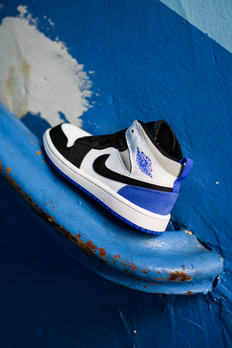 "JORDAN 1 MID SE (PS) ""HYPER ROYAL"""