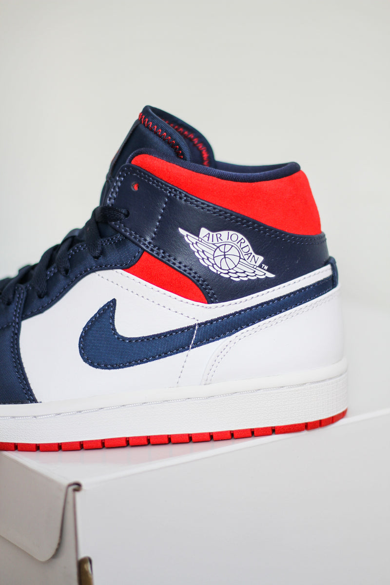 "AIR JORDAN 1 MID SE ""USA"""