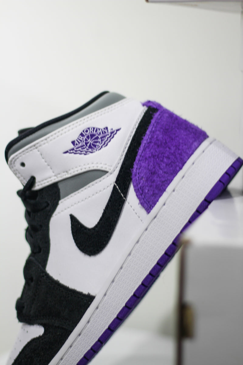 "JORDAN 1 MID SE (PS) ""VARSITY PURPLE"""