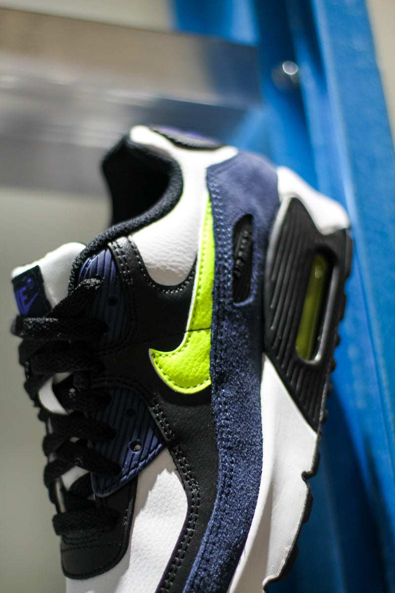 "AIR MAX 90 LTR (GS) ""MIDNIGHT NAVY"""