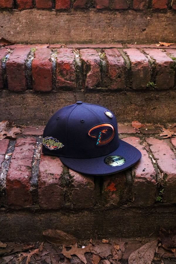 2011 ARIZONA DIAMONDBACKS NAVY FITTED W/ KIWI UNDER VISOR