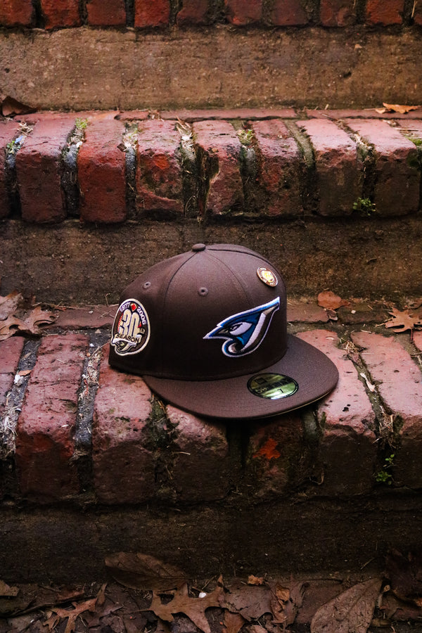 2006 TORONTO BLUE JAYS BROWN FITTED W/ BUTTER UNDER VISOR