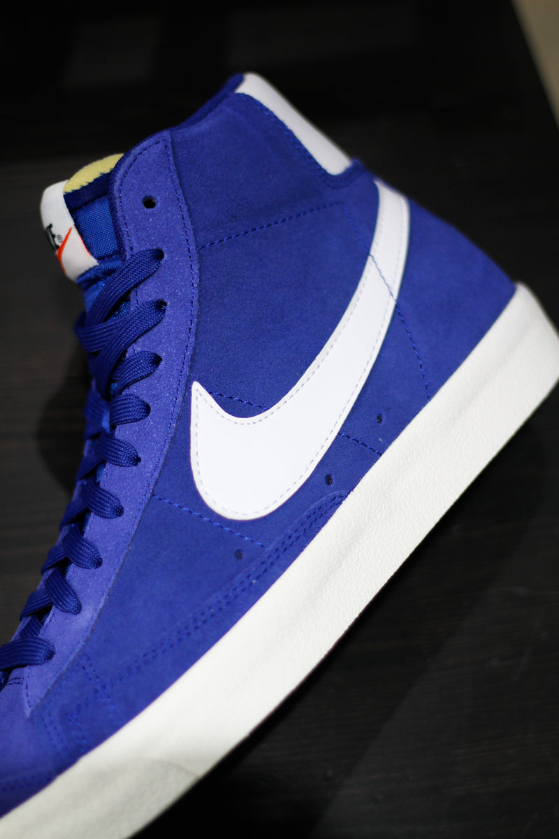 "BLAZER MID '77 SUEDE ""DEEP ROYAL"""