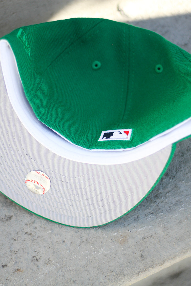 2011 ST. LOUIS CARDINALS GREEN FITTED W/ GREY UNDER VISOR