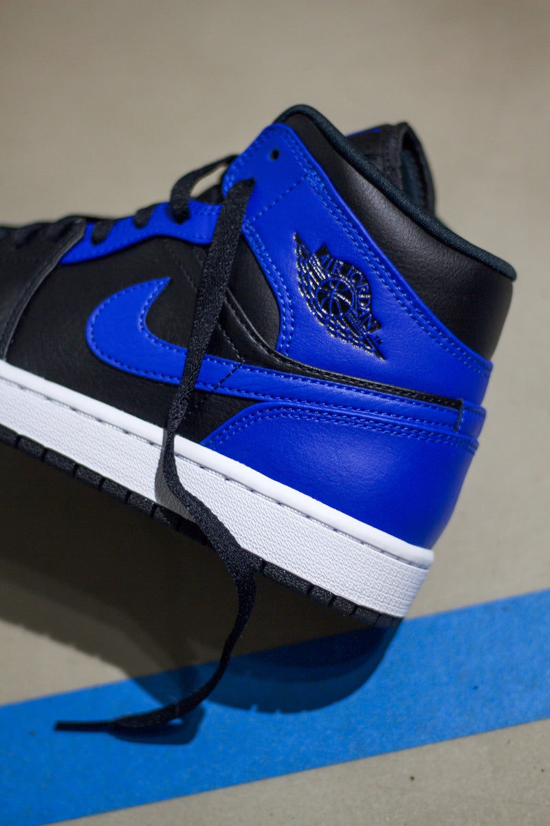 "AIR JORDAN 1 MID ""HYPER ROYAL"""