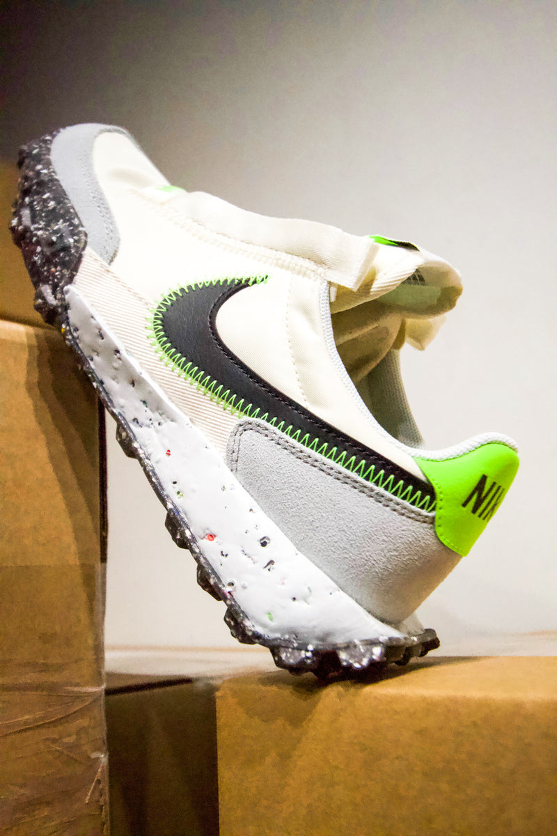 "NIKE WAFFLE RACER CRATER ""ELECTRIC GREEN"""