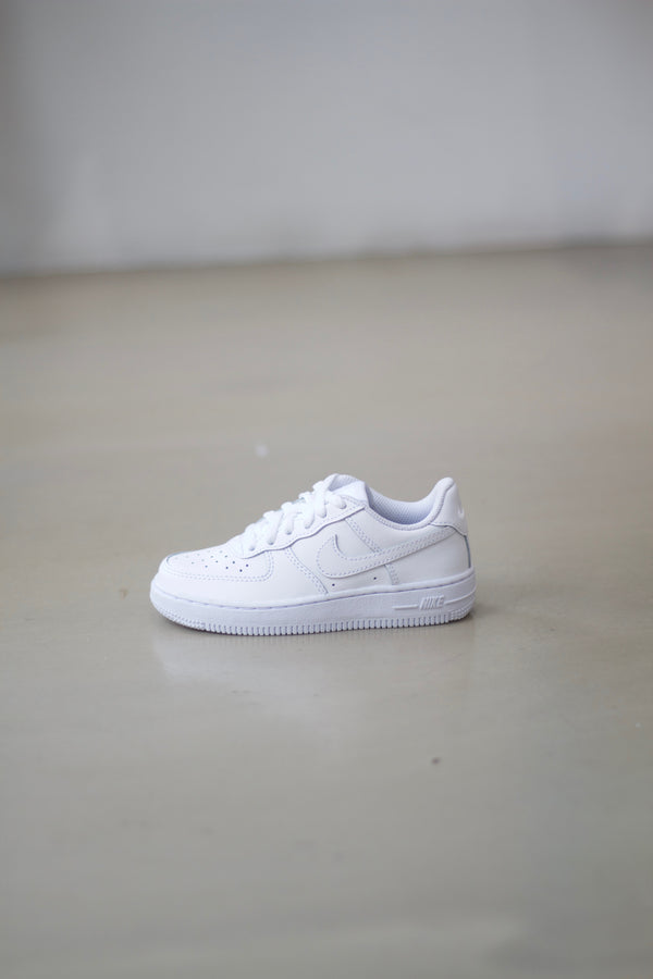 "NIKE FORCE 1 (PS) ""WHITE"""