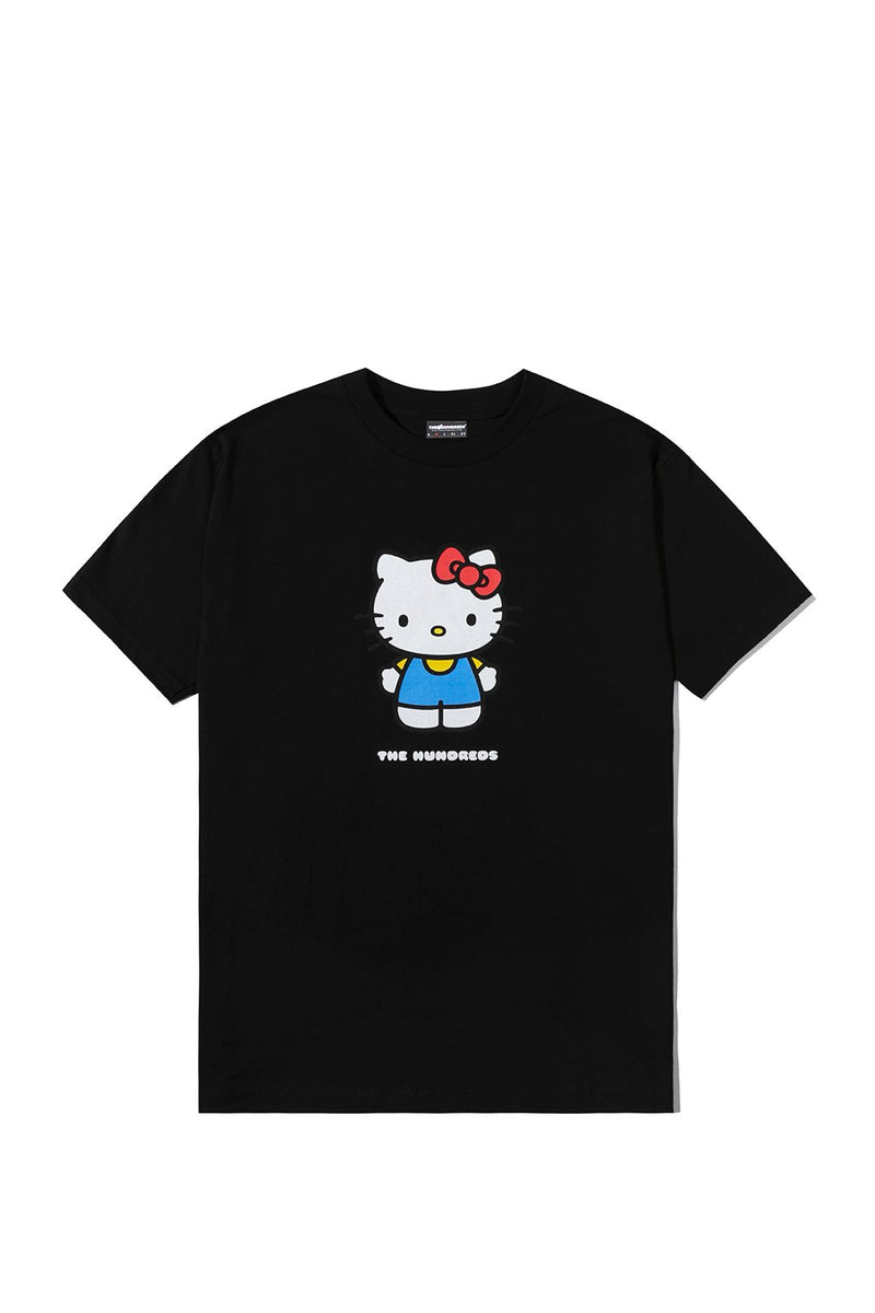 HELLO KITTY TEE - BLK