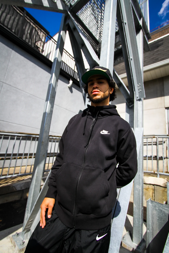 "NSW CLUB FLEECE ""BLACK"""