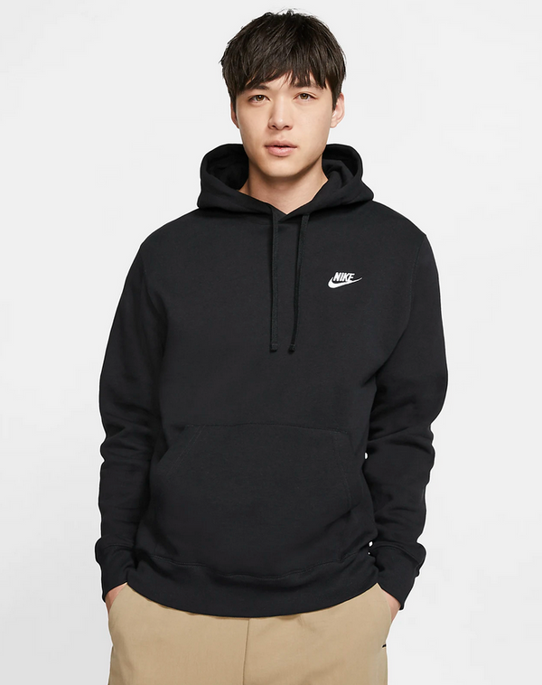 "NSW CLUB FLEECE HOODIE ""BLACK"""