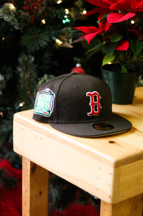 1999 BOSTON RED SOX BROWN FITTED W/ BUTTER UNDER VISOR