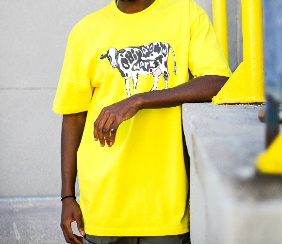 "COW TEE ""YELLOW"""