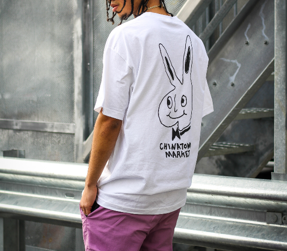 "REAL BUNNY TEE ""WHITE"""