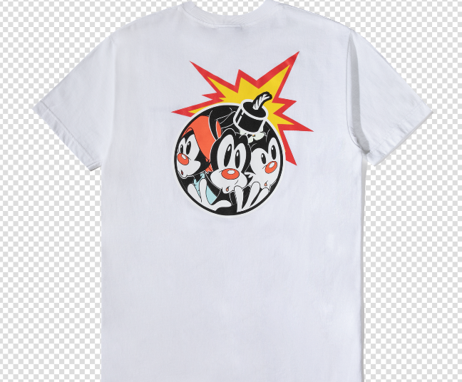 "ANIMANIACS BOMB T-SHIRT ""WHITE"""