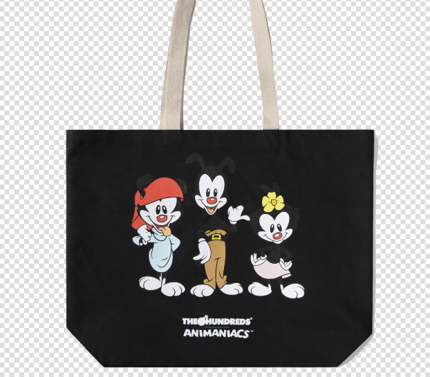 THE ANIMANIACS CHARACTER TOTE BAG