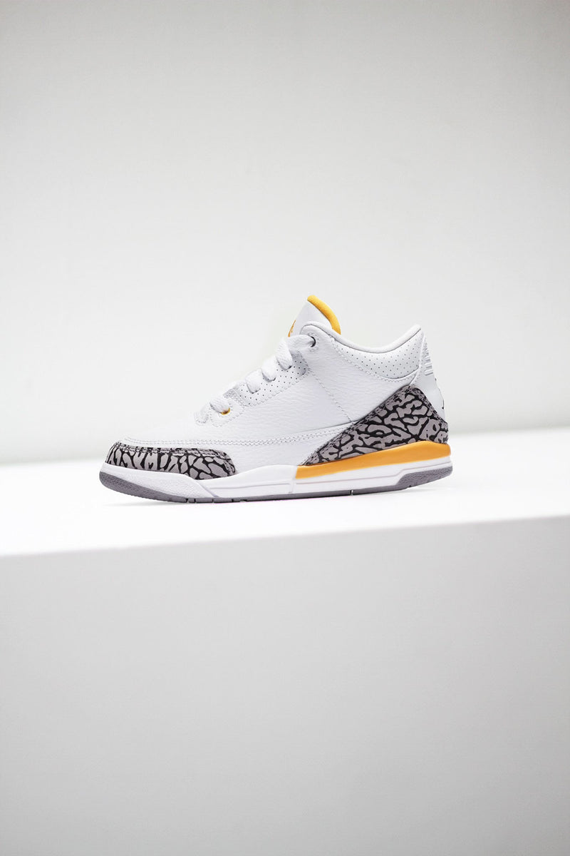 "JORDAN 3 RETRO (PS) ""LASER ORANGE"""