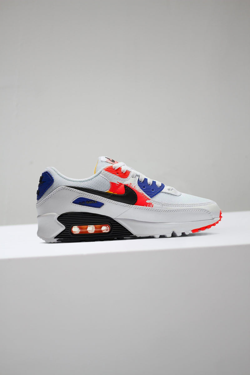 "W AIR MAX 90 ""WHT/LASER ORANGE"""