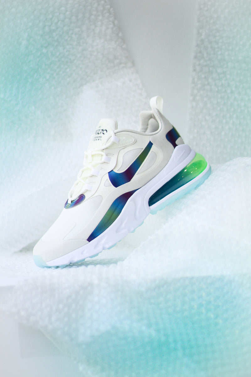 "AIR MAX 270 REACT ""SUMMIT WHT"""
