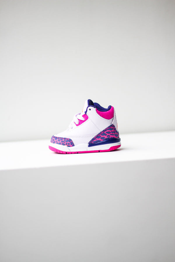 "AIR JORDAN 3 (TD) ""BARELY GRAPE"""