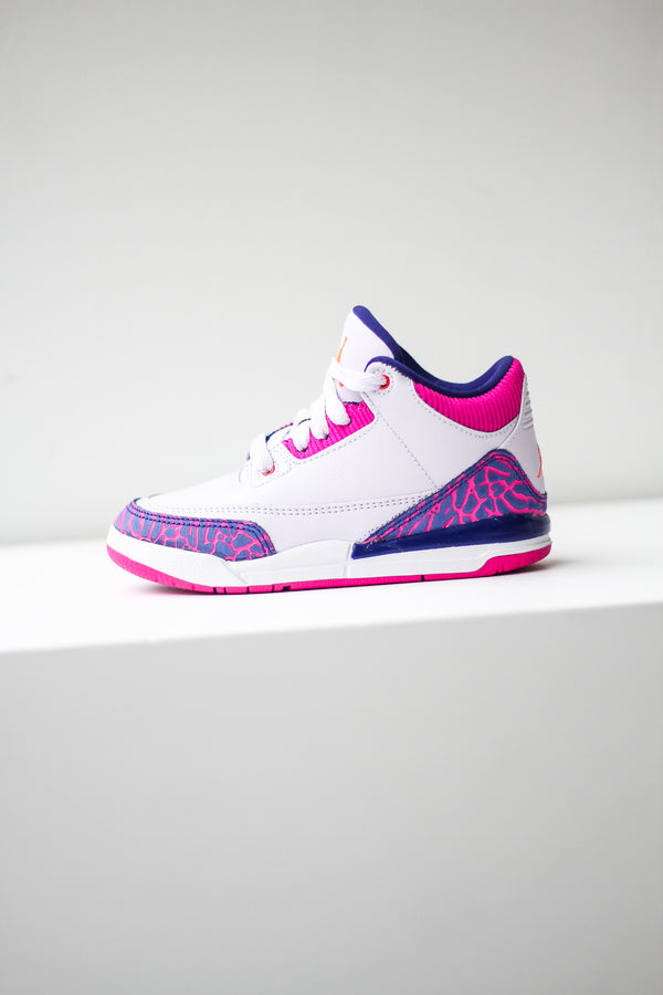 "AIR JORDAN 3 (PS) ""BARELY GRAPE"""