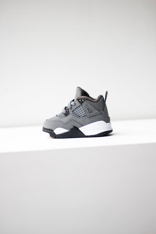 "AIR JORDAN 4 ""COOL GRAY'' (TD)"