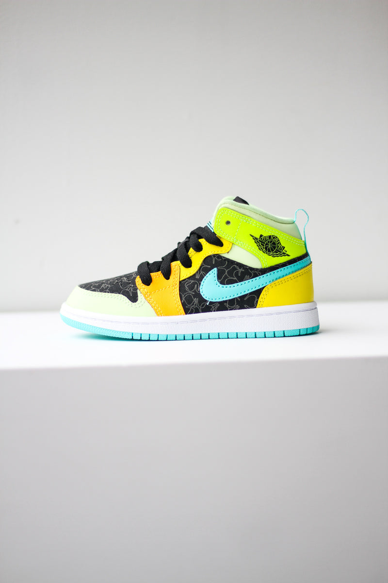 "AIR JORDAN 1 MID (PS) ""MULTI"""