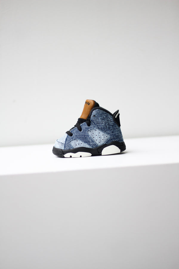 "AIR JORDAN 6 RETRO (TD) ""DENIM"""