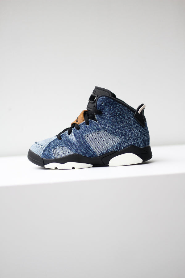 "AIR JORDAN 6 (PS) ""DENIM"""