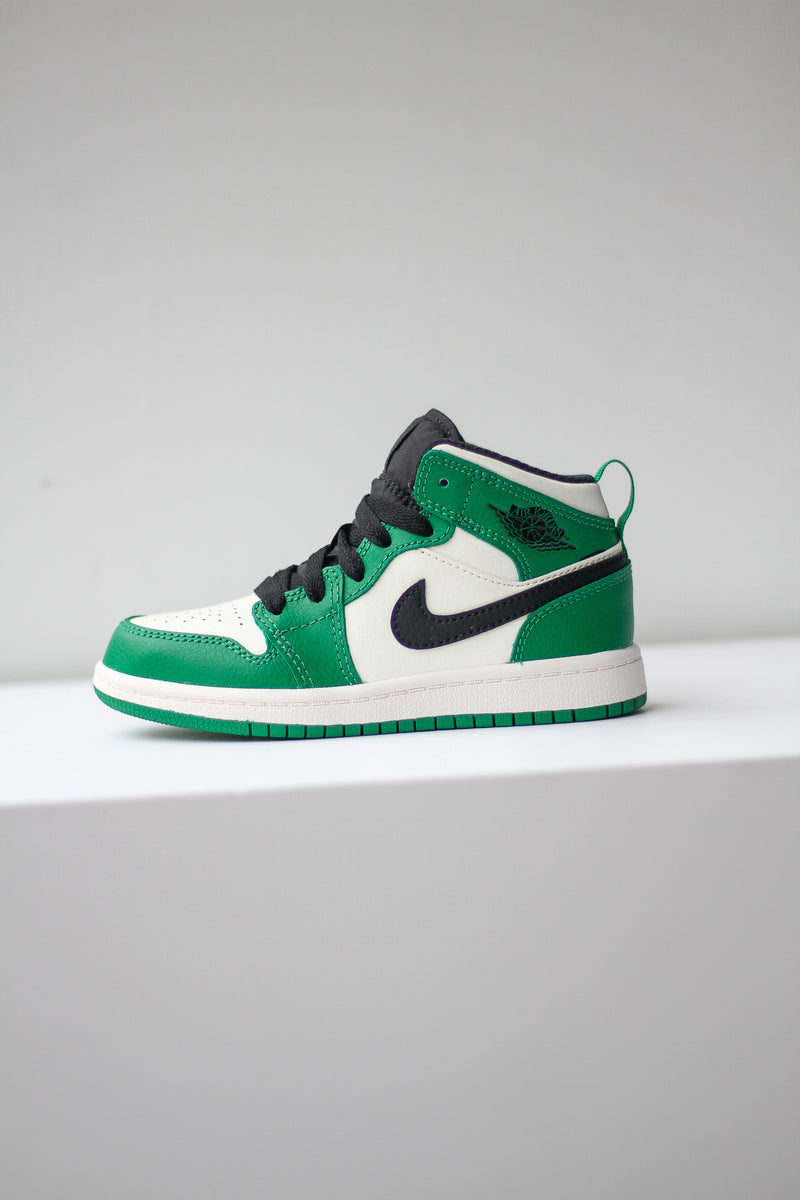 "JORDAN 1 MID (PS) ""PINE GREEN"""