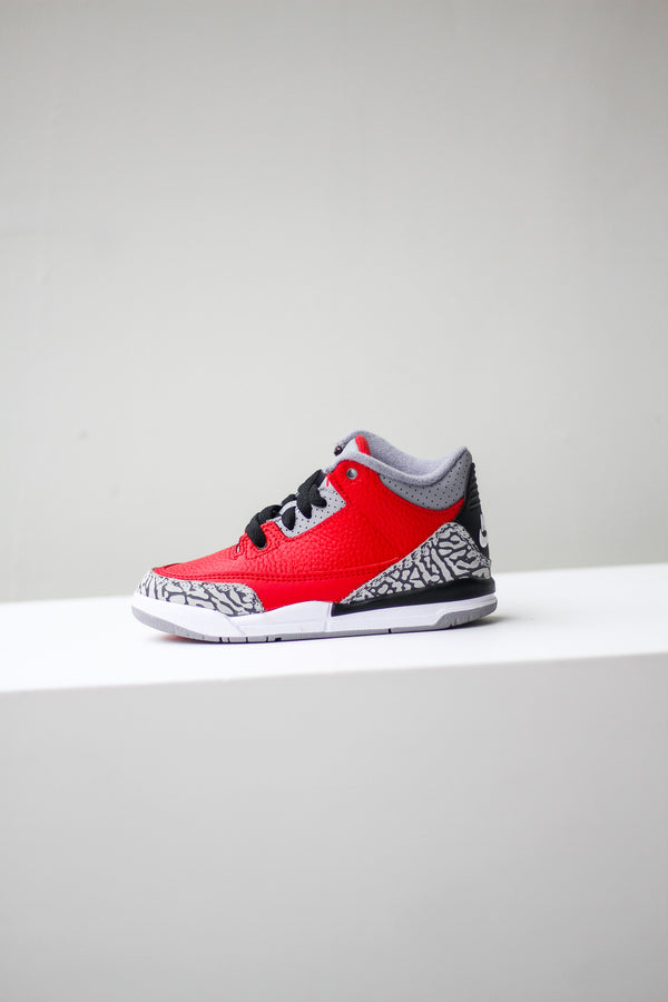 "JORDAN 3 RETRO SE (TD) ""FIRE RED"""