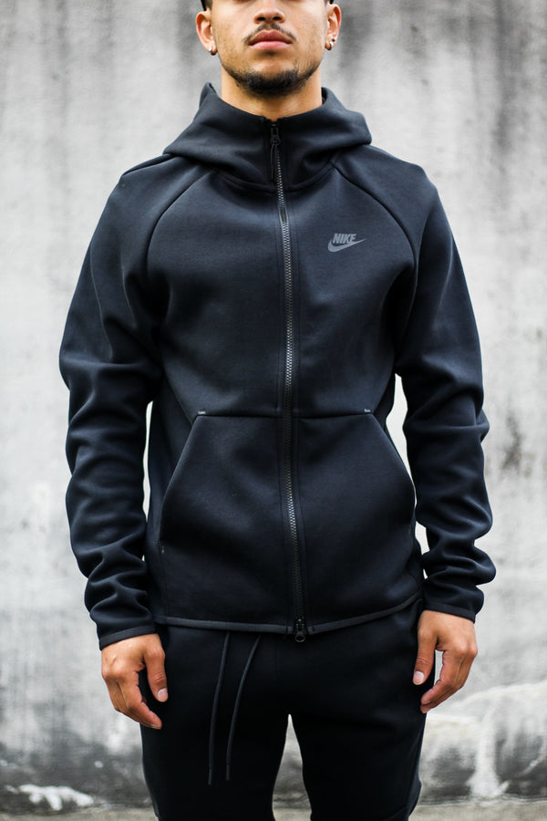 "NSW TECH FLEECE ZIP UP ""BLACK"""