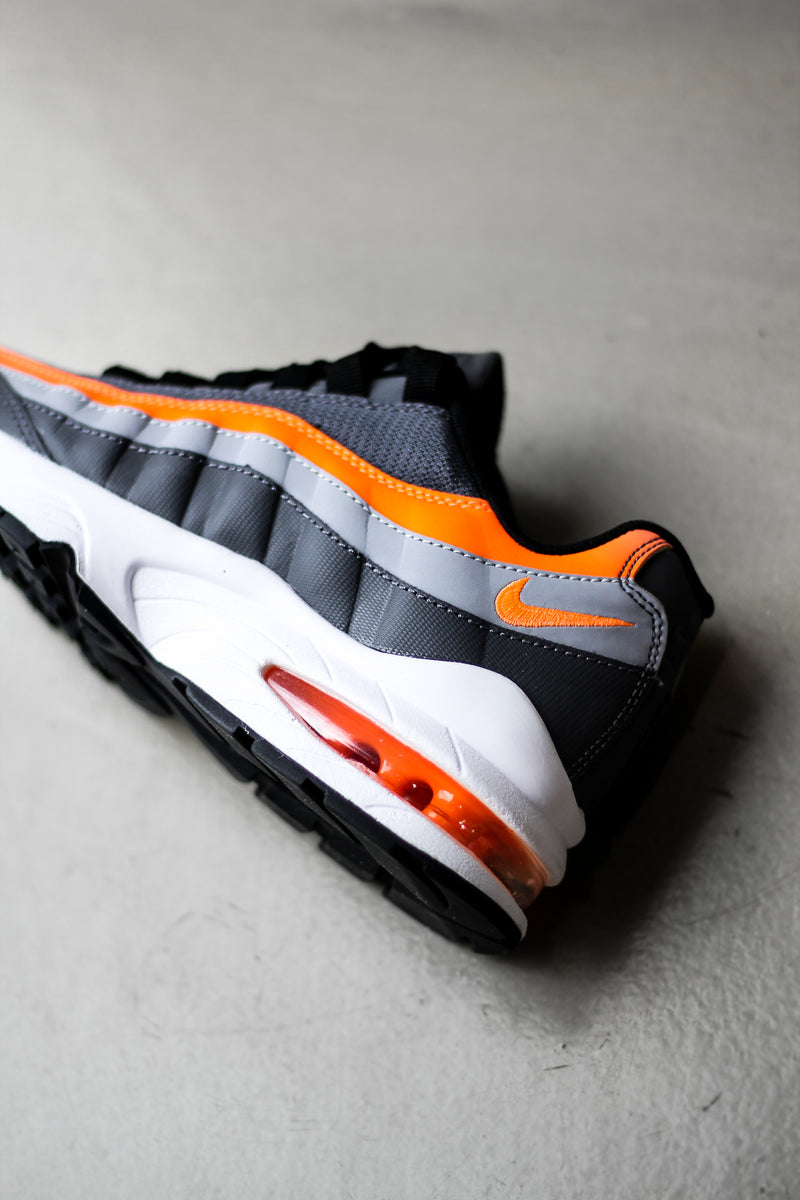 "AIR MAX 95 (GS) ""GREY/TL ORANGE"""