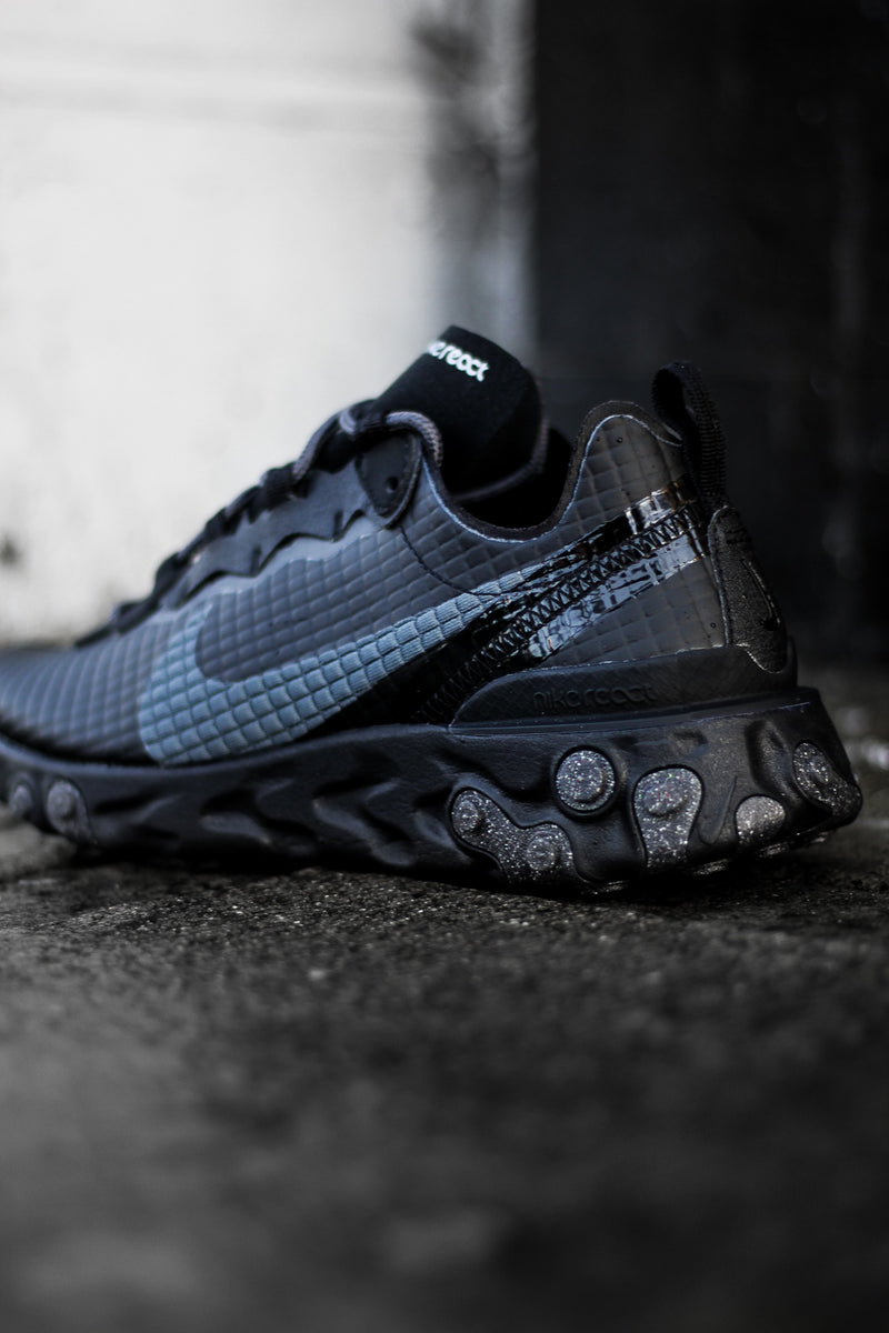 "REACT ELEMENT 55 PRM ""QUILTED BLK"""