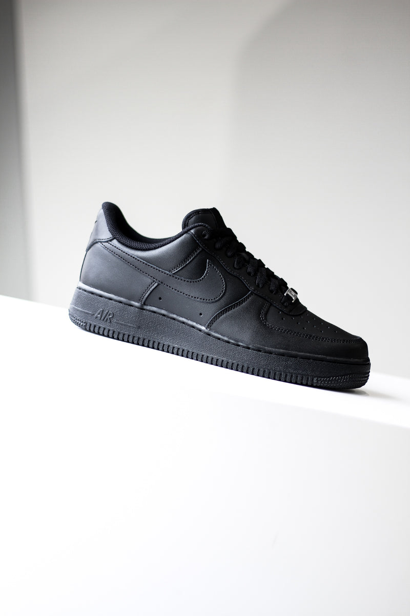 "AIR FORCE 1 (GS) ""BLACK"""